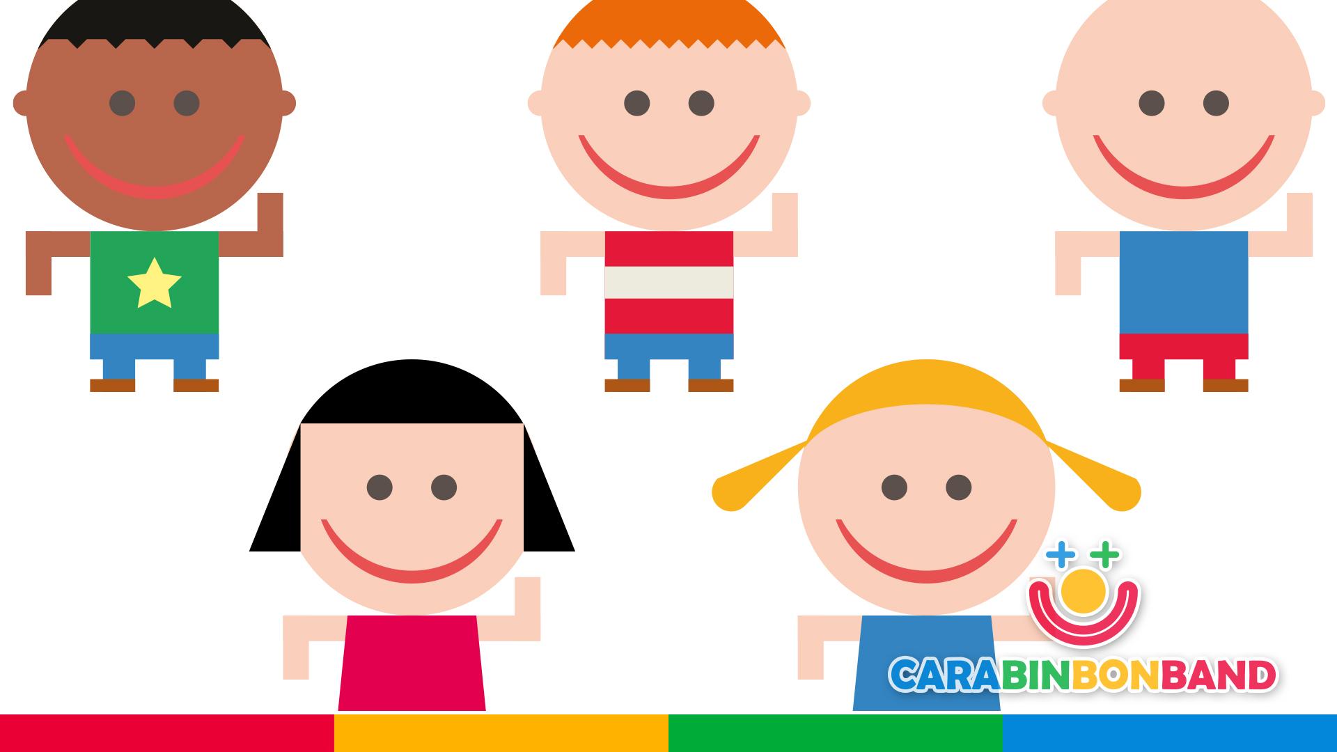 Carabin bon ban - children's songs - Spanish traditional and popular games