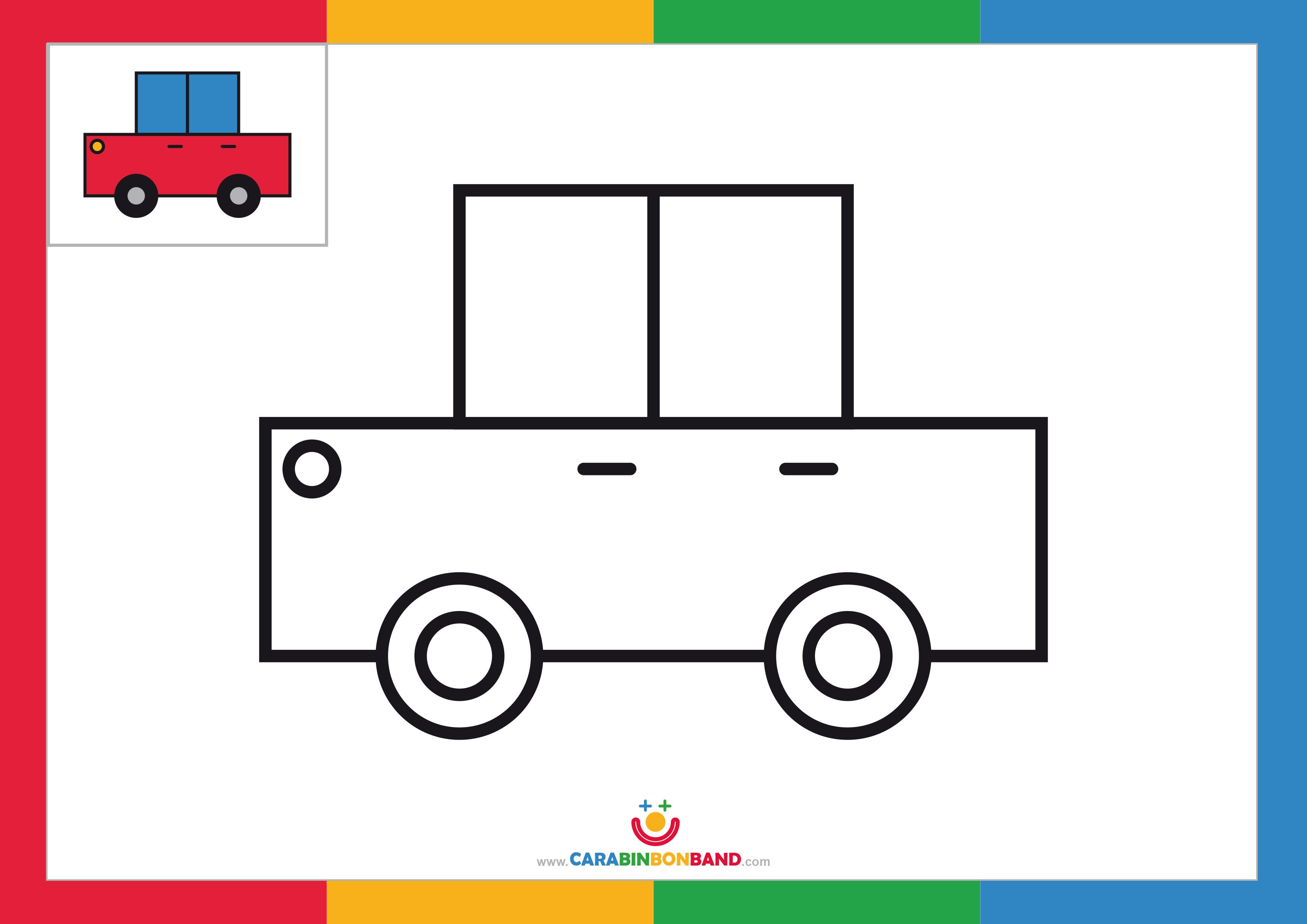 Cómo Dibujar Un Coche Fácil Para Niños