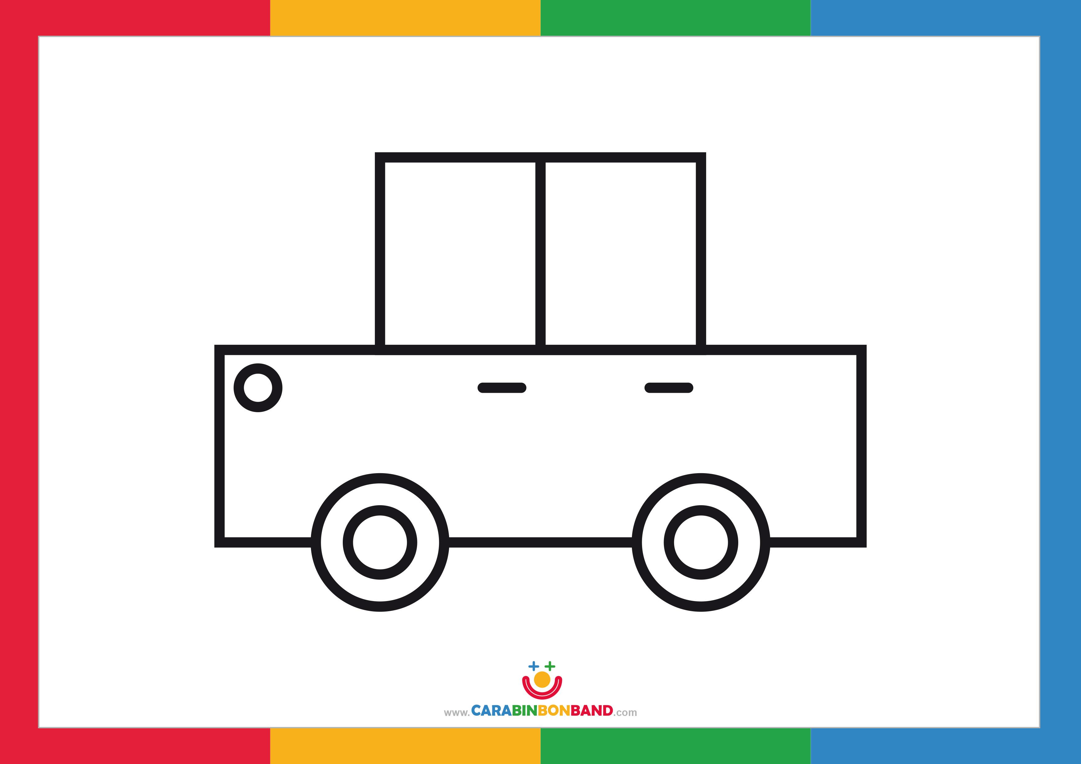 Dibujos Mas Fasiles Para Dibujar: Cómo Dibujar Un Coche Fácil Para Niños