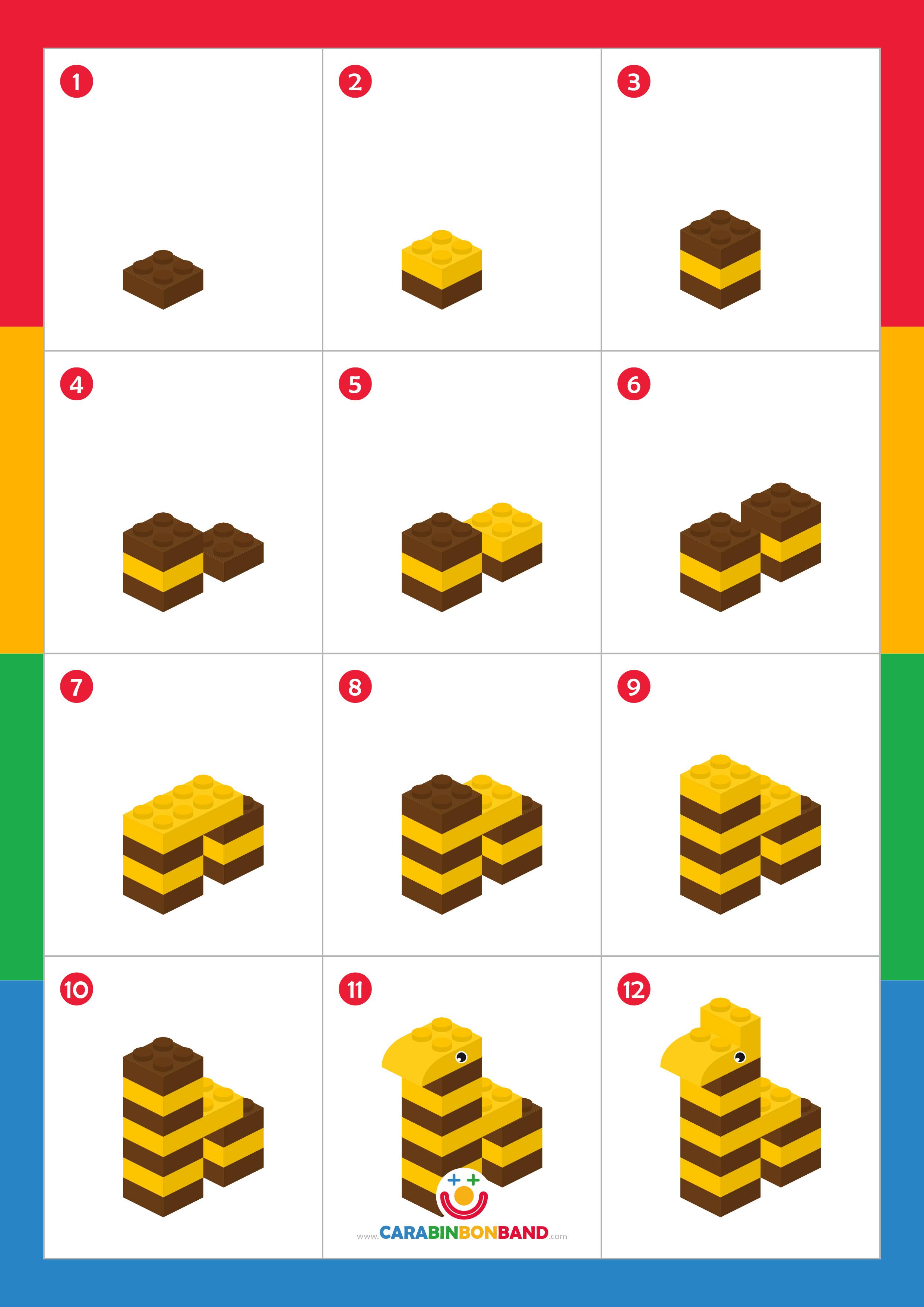 Tutorial LEGO: animales de la jungla