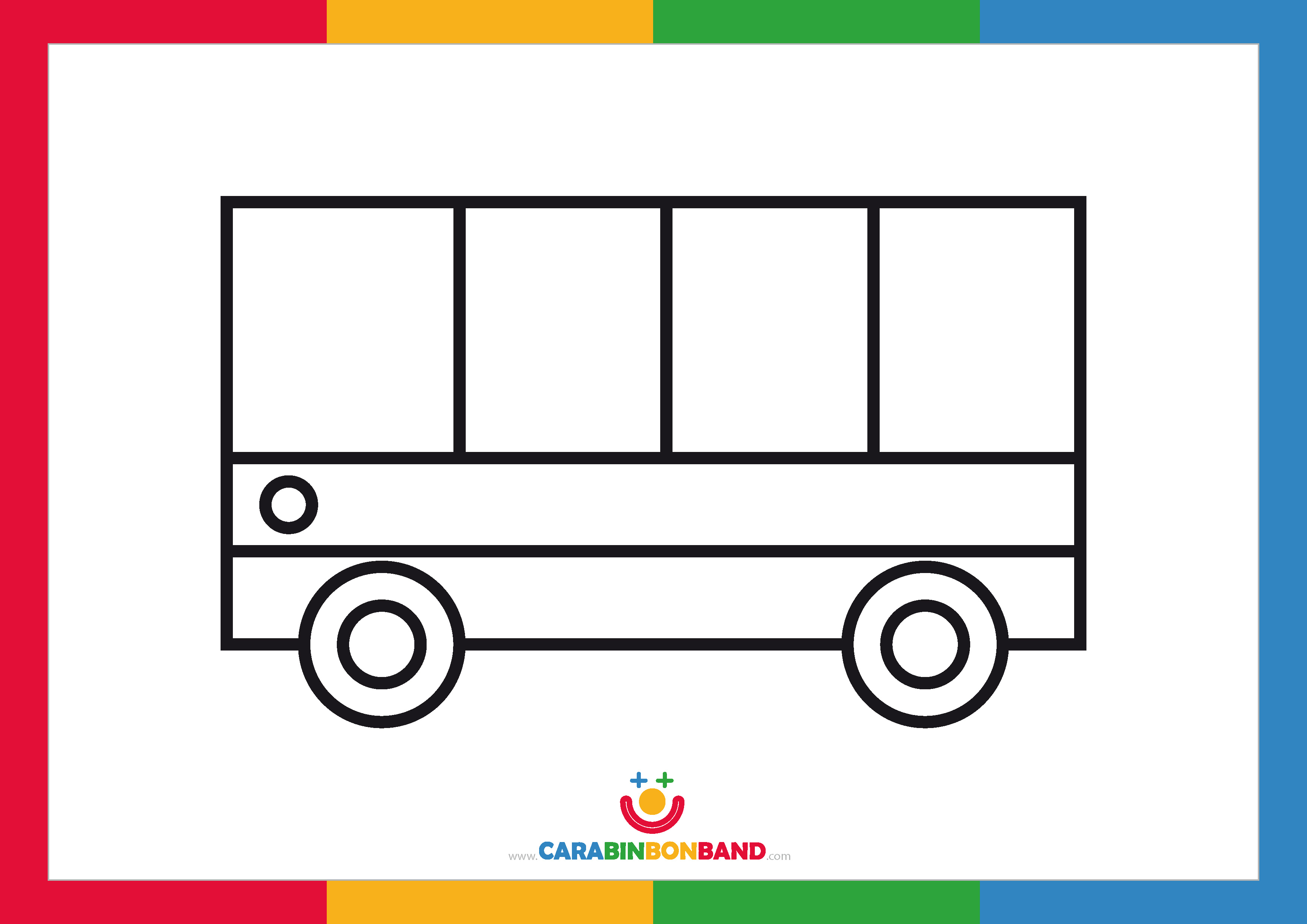 Coloring sheets: vehicles for children