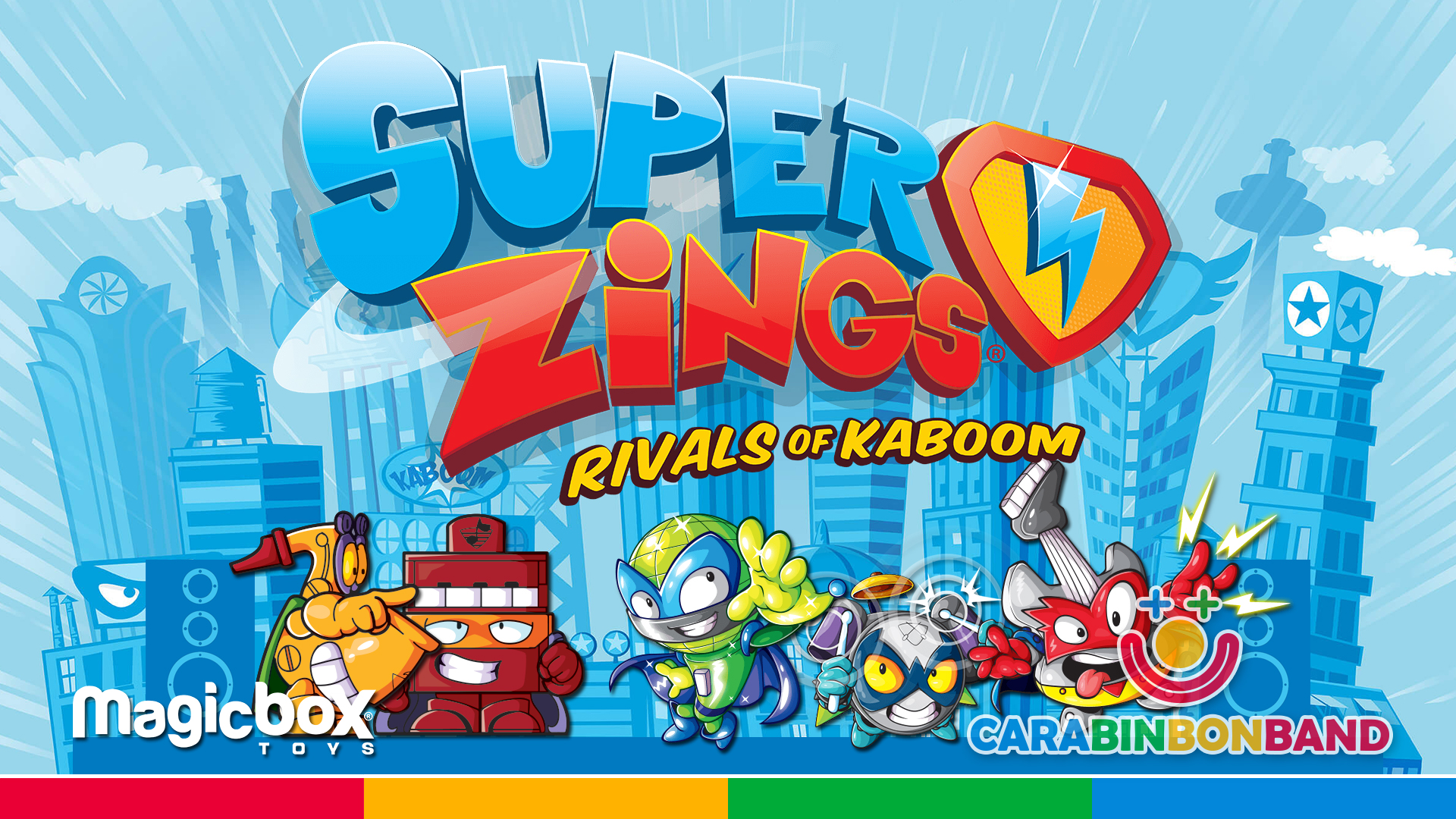 Superzings canción - todos los rivales de la serie 1, serie 2 y serie 3