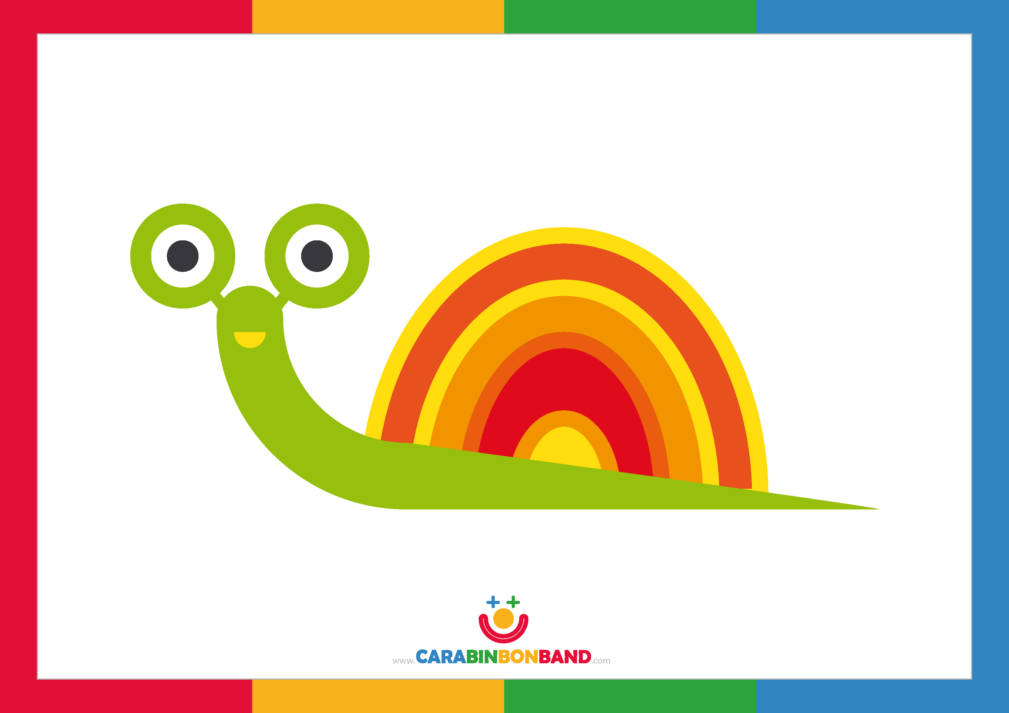 Children´s picture: snail