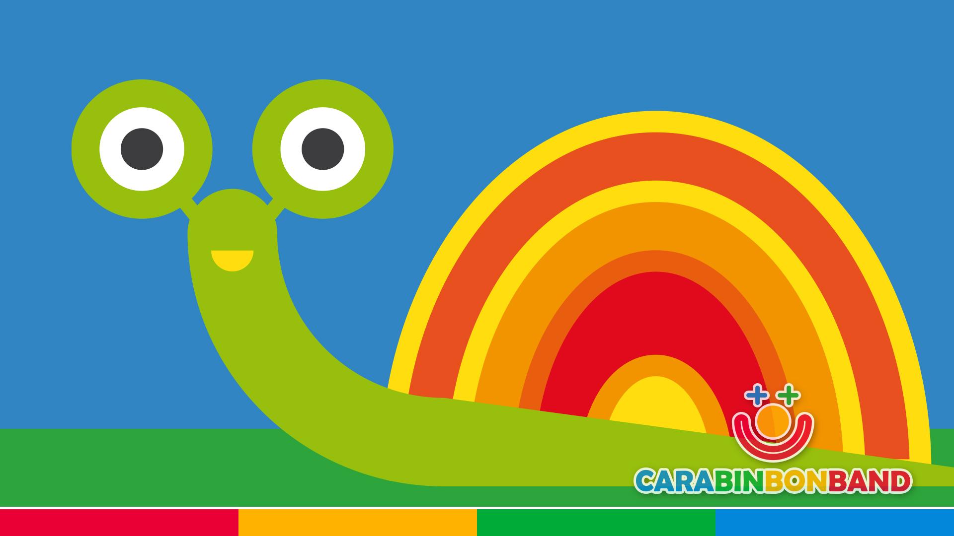Poetry for children - The snail goes slowly - Short children poems in Spanish