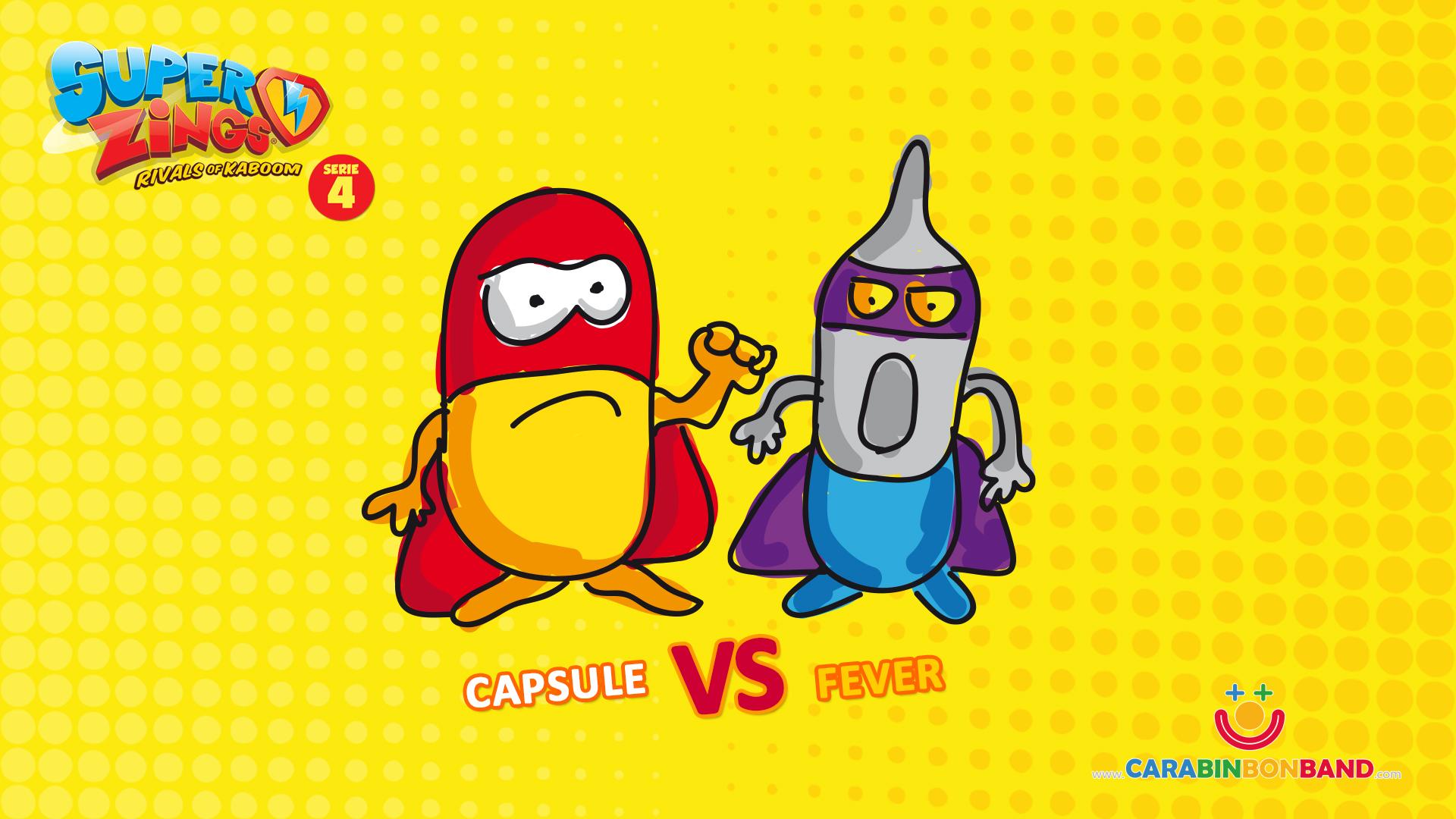 Nuestras parejas de rivales para la serie 4 de Superzings – By CARA BIN BON BAND