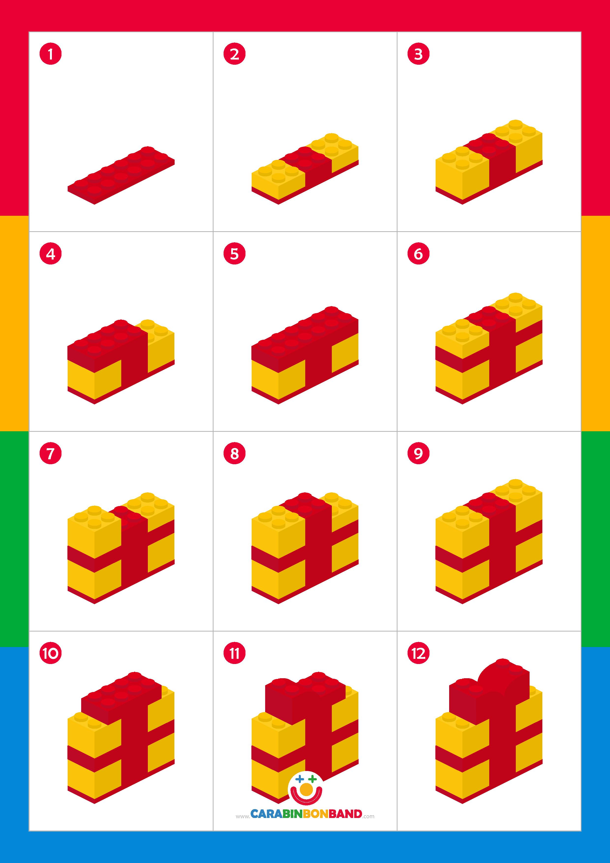 Tutorial LEGO: cómo hacer adornos de Navidad