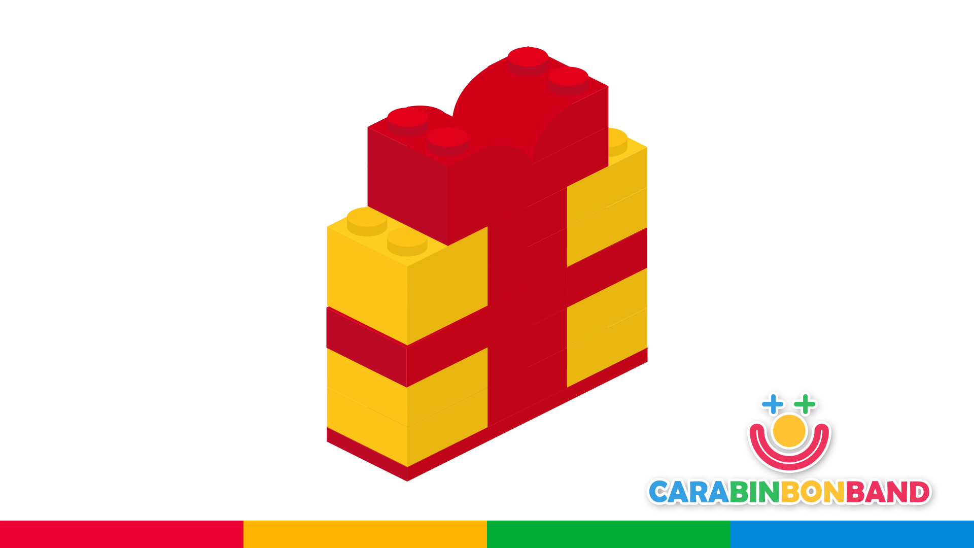 Easy LEGO constructions for children - how to make a gift