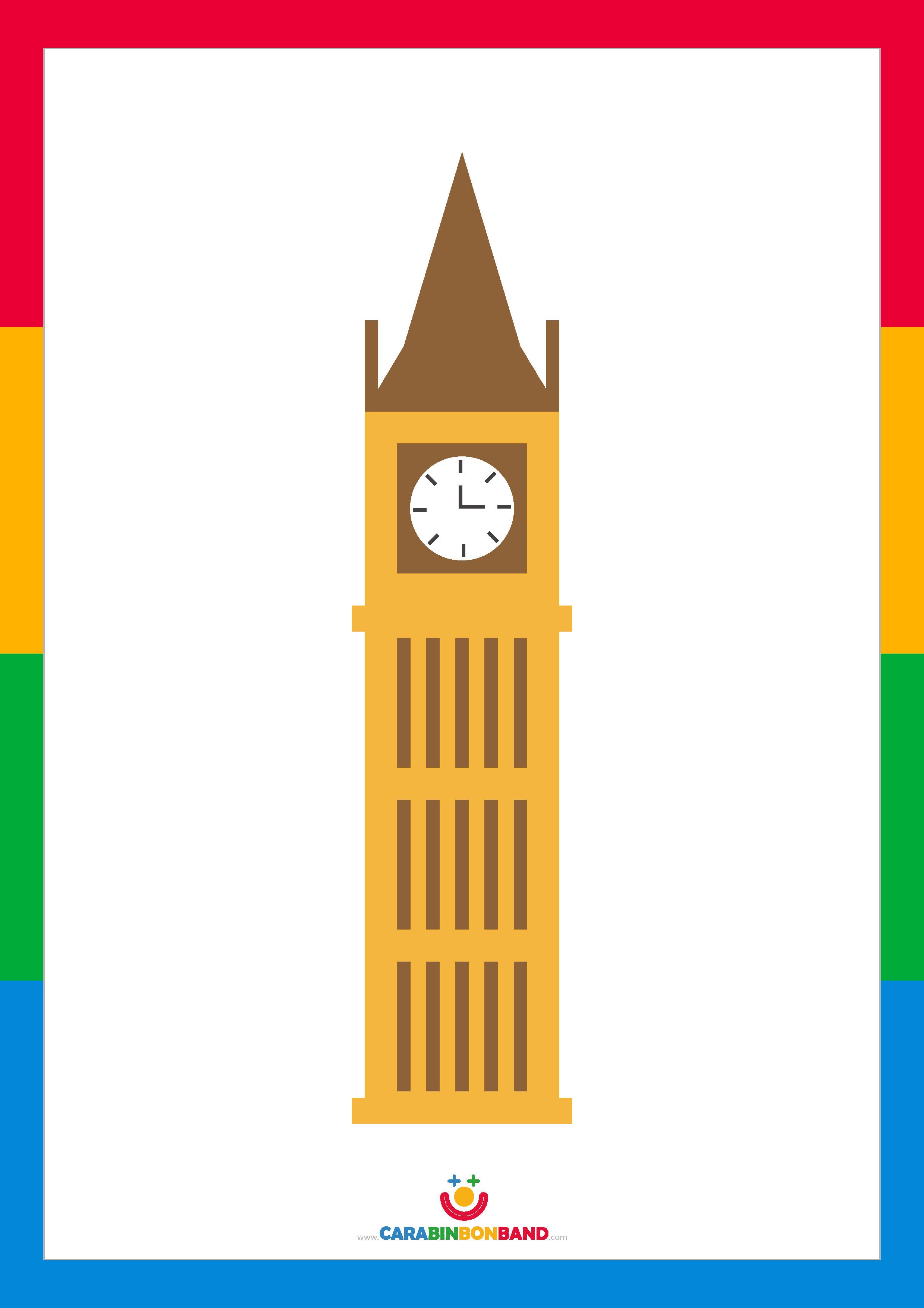 Children´s picture: Big Ben