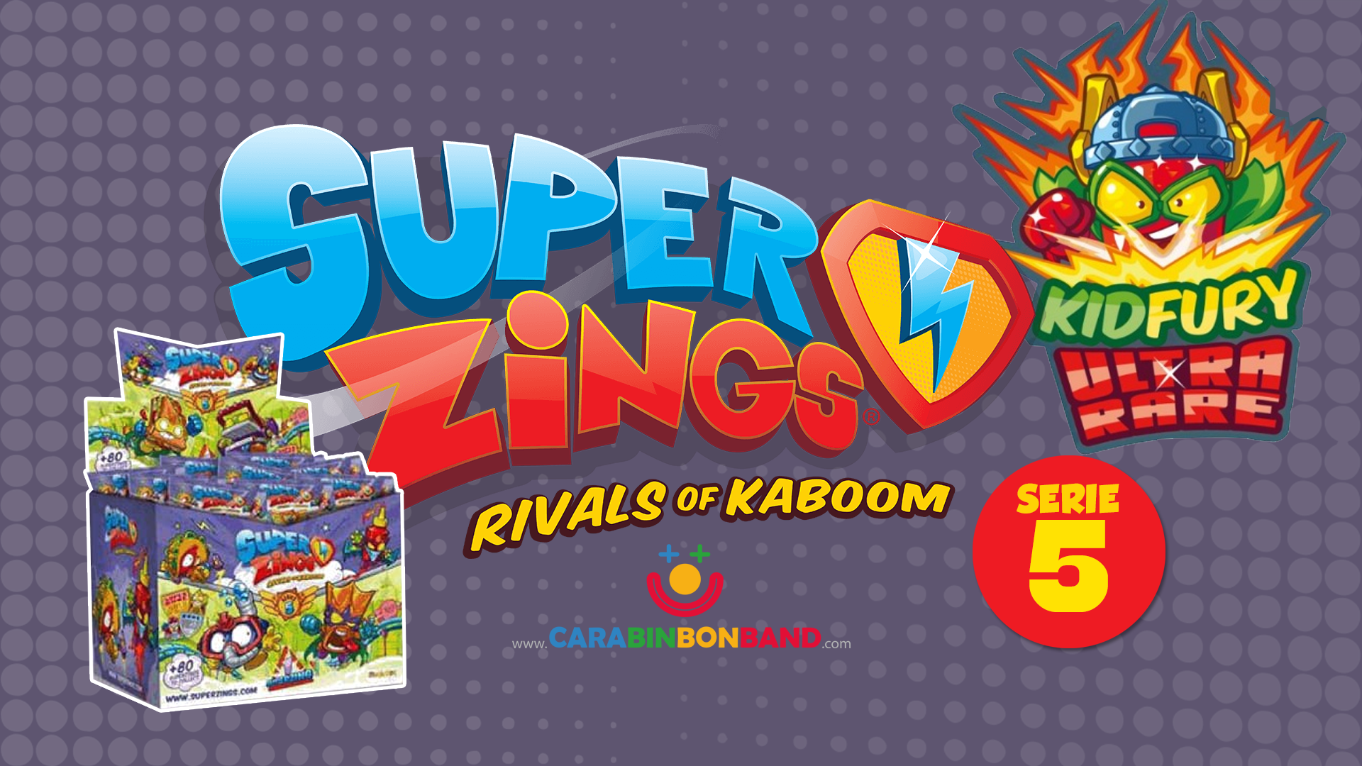 SUPERZINGS SERIES 5 - First images and release date - By CARA BIN BON BAND