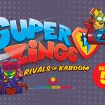 SUPERZINGS SERIE 5 - Nuevos vehículos y más personajes revelados