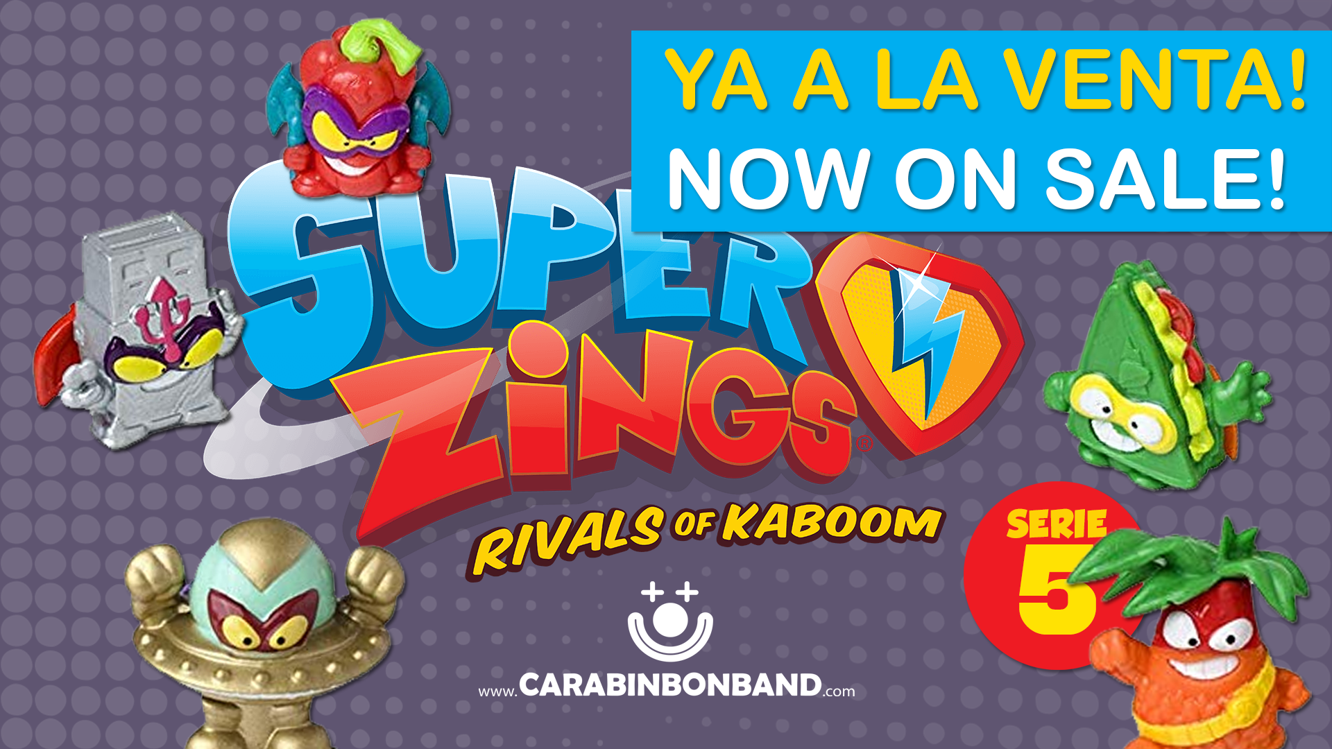 SUPERZINGS SERIES 5 now on sale!