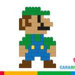 Easy LEGO for kids: how to make Luigi (Super Mario Bros)