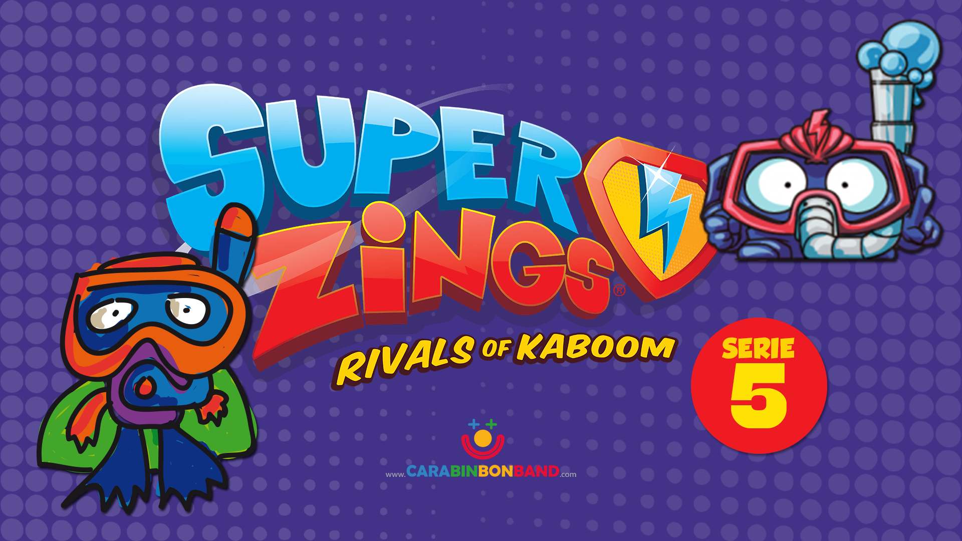 SUPERZINGS series 5 - comparison official series and invented characters