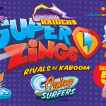 SUPERZINGS ADVENTURES - 5 SERIES TEAMS