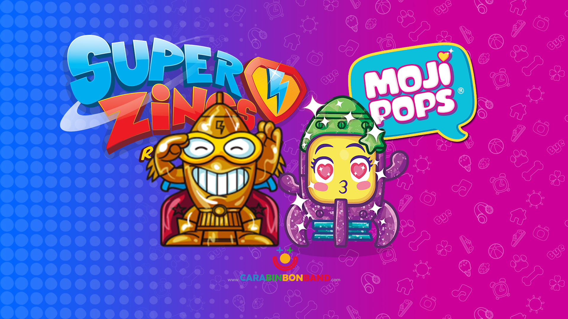Comparando MOJIPOPS Serie 1 Y SUPERZINGS - Personajes similares