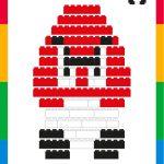 LEGO Tutorial: how to make Goomba, enemy of Mario Bros