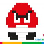 Easy LEGO for kids: how to make Goomba, the enemy of Super Mario Bros