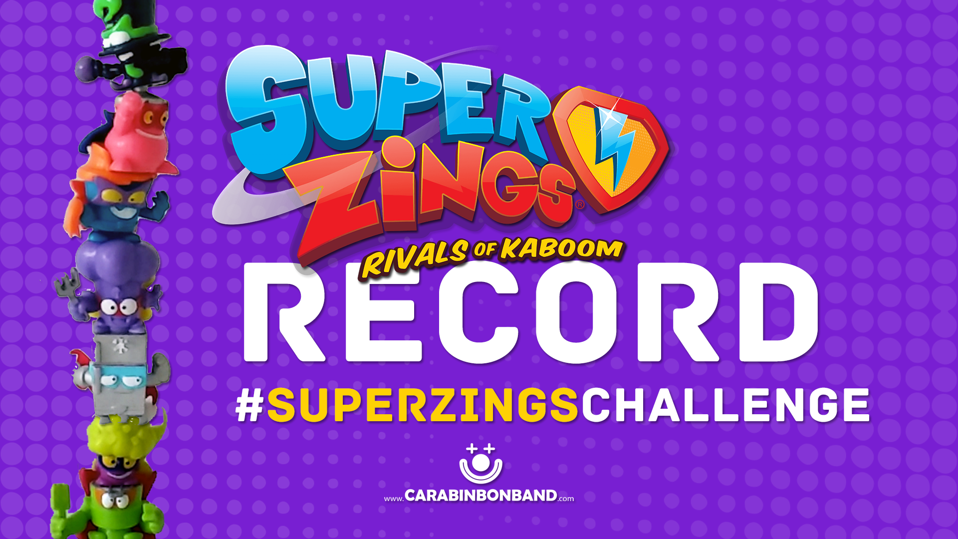 NUEVO RÉCORD RETO TORRE SUPERZINGS  - By CARA BIN BON BAND