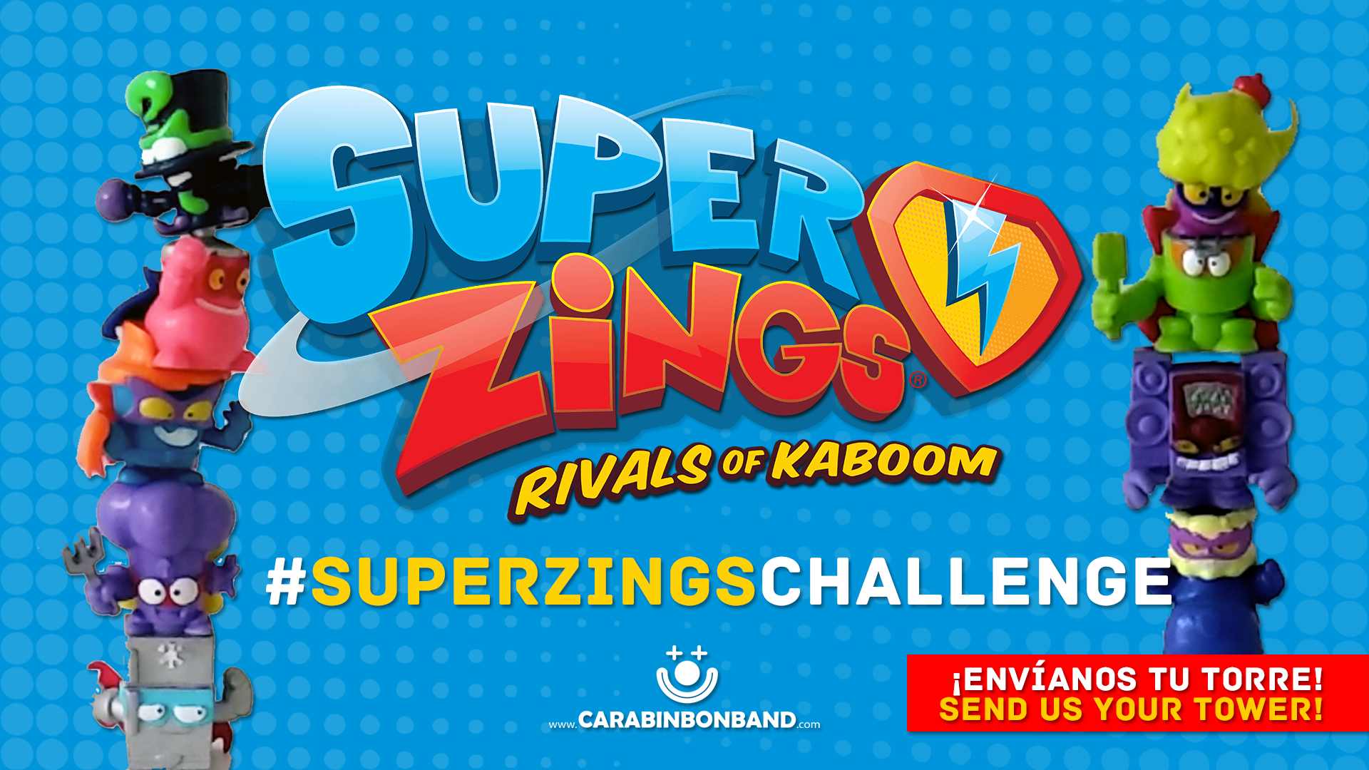 SUPERZINGS CHALLENGE - How many heroes and villains can you overlay?