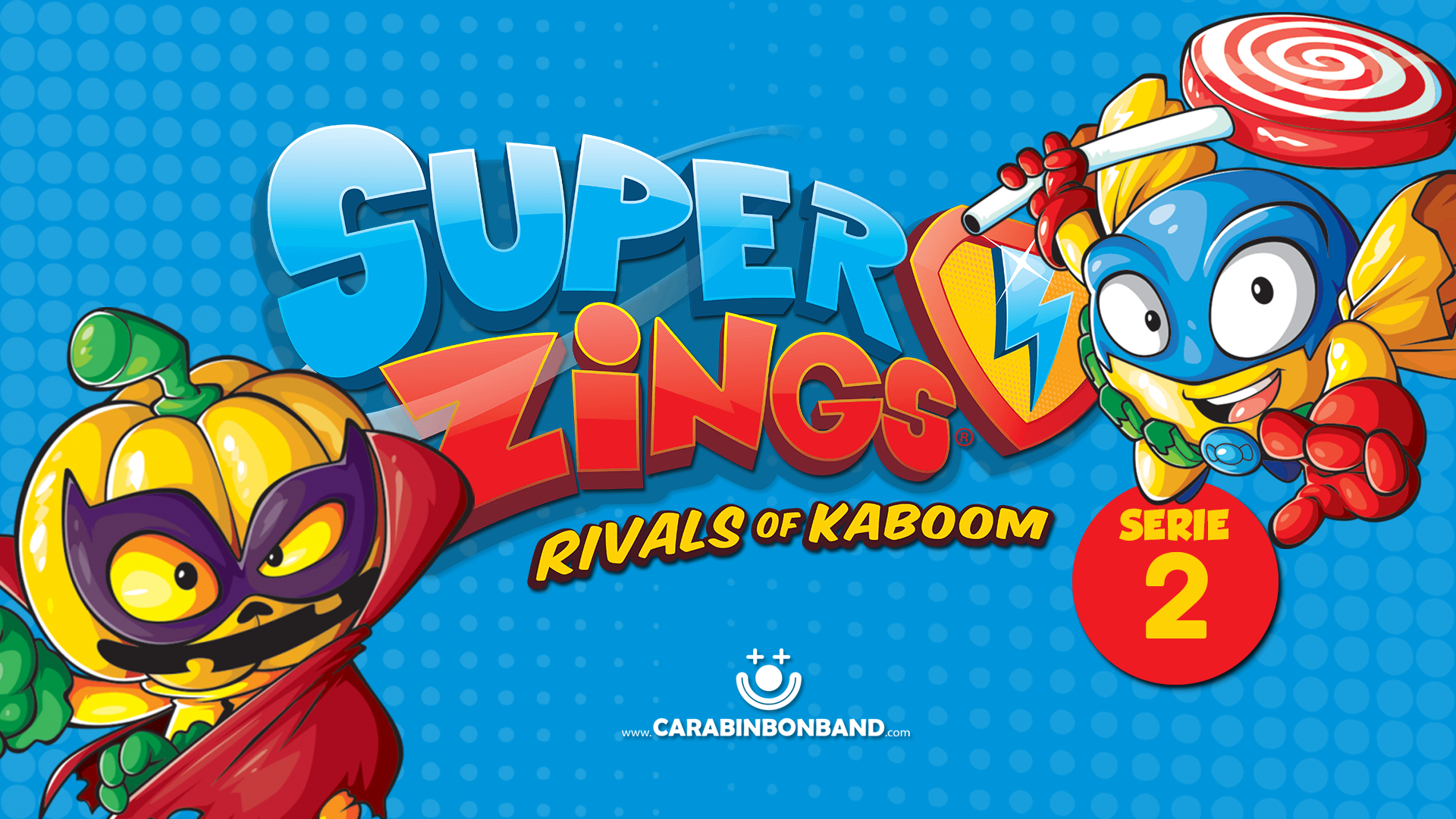 SUPERZINGS SERIE 2 - all RIVALS of the second season