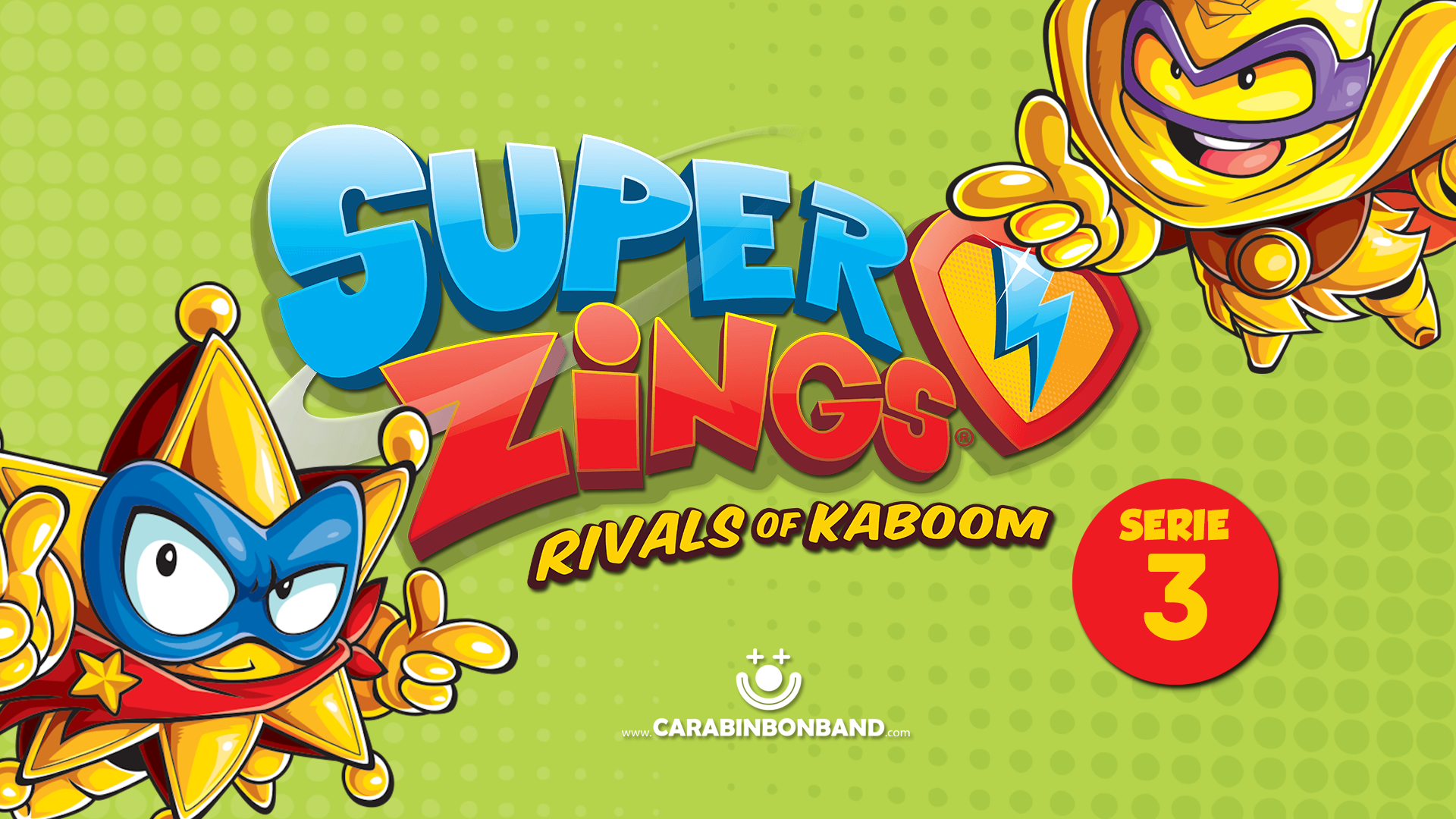 SERIES 3 SUPERZINGS - all RIVALS from the third season