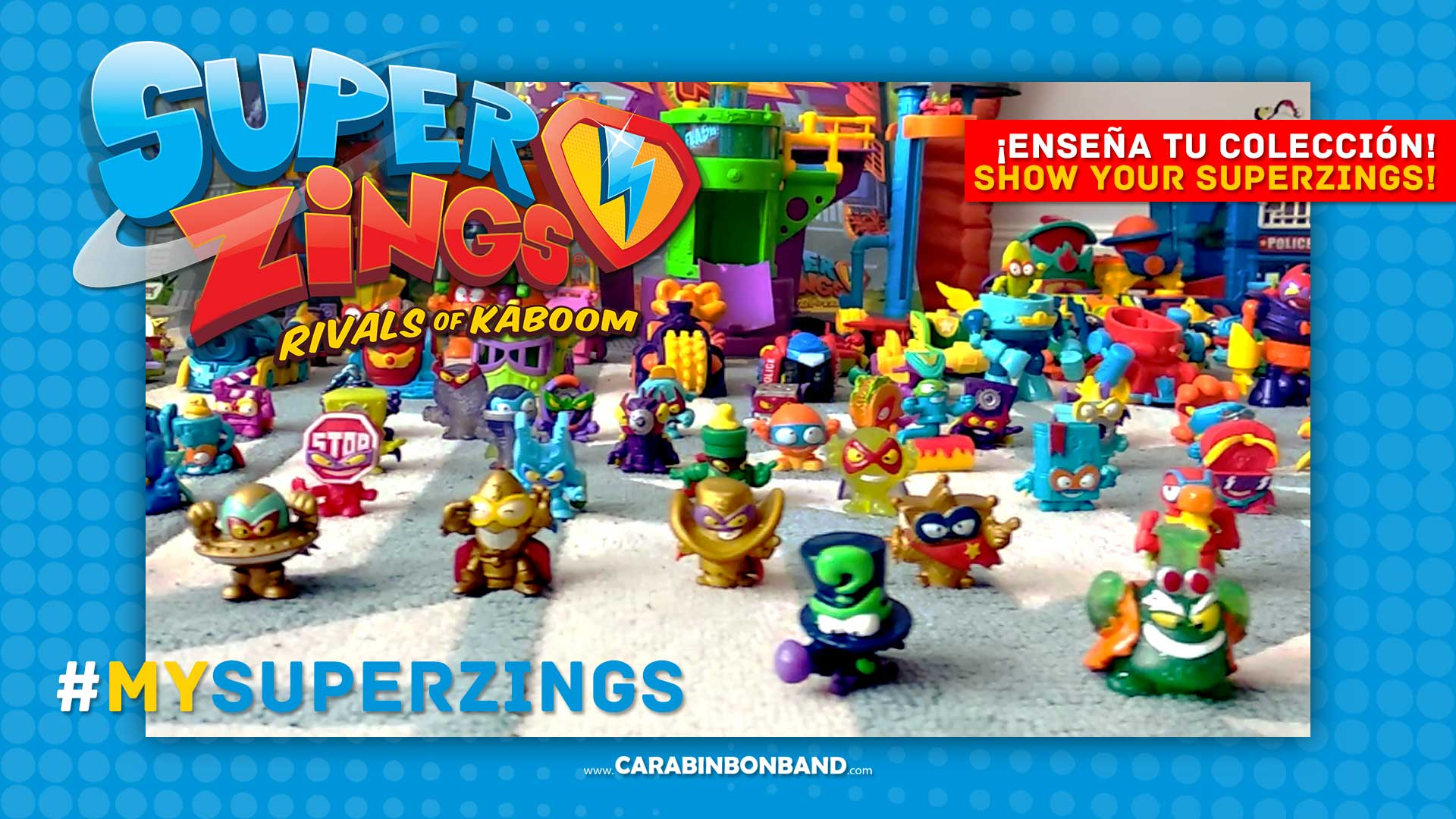 We show you our COMPLETE COLLECTION OF #SUPERZINGS! Can you show us yours?