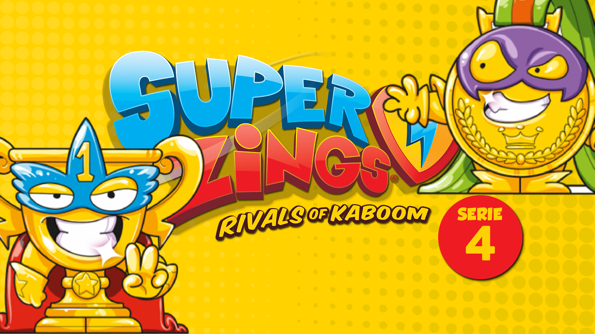 SUPERZINGS SERIE 4 - all RIVALS of the fourth season