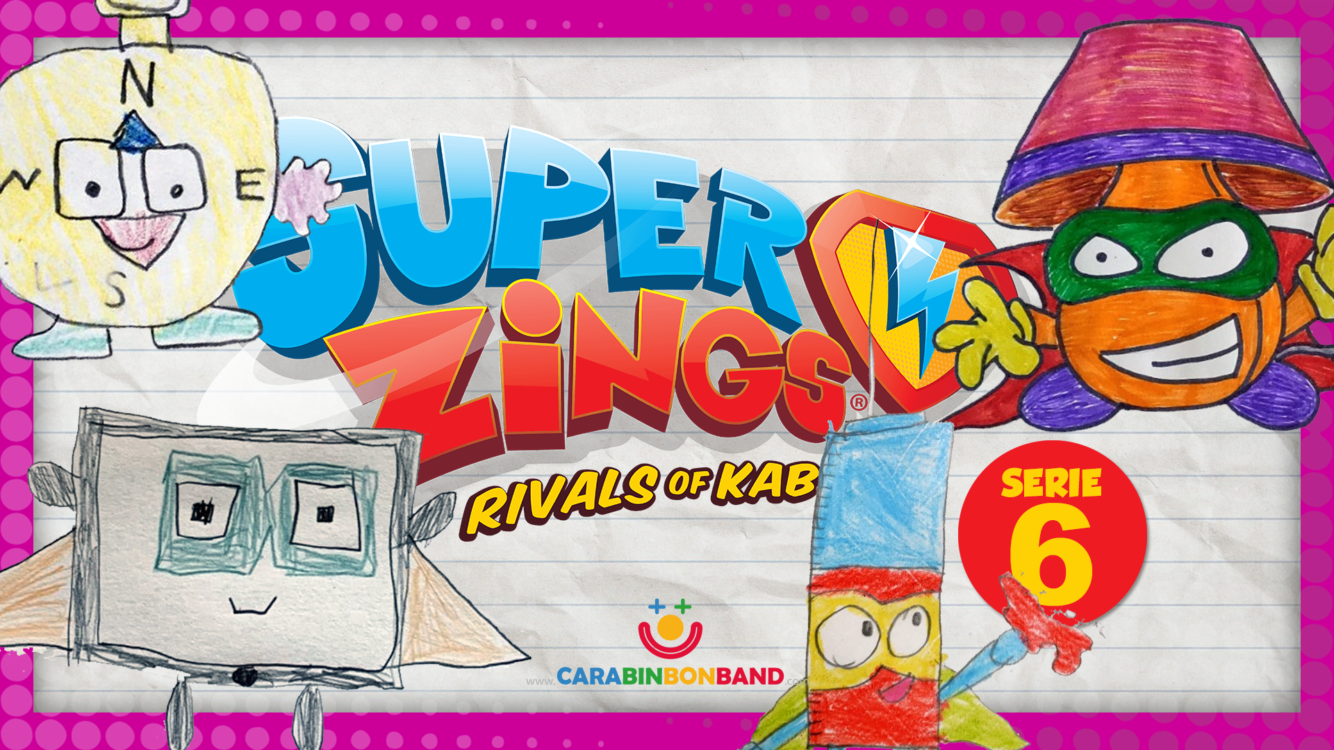 SUPERZINGS SERIE 6 inventada por los niños PARTE 2 - imaginando Superzings