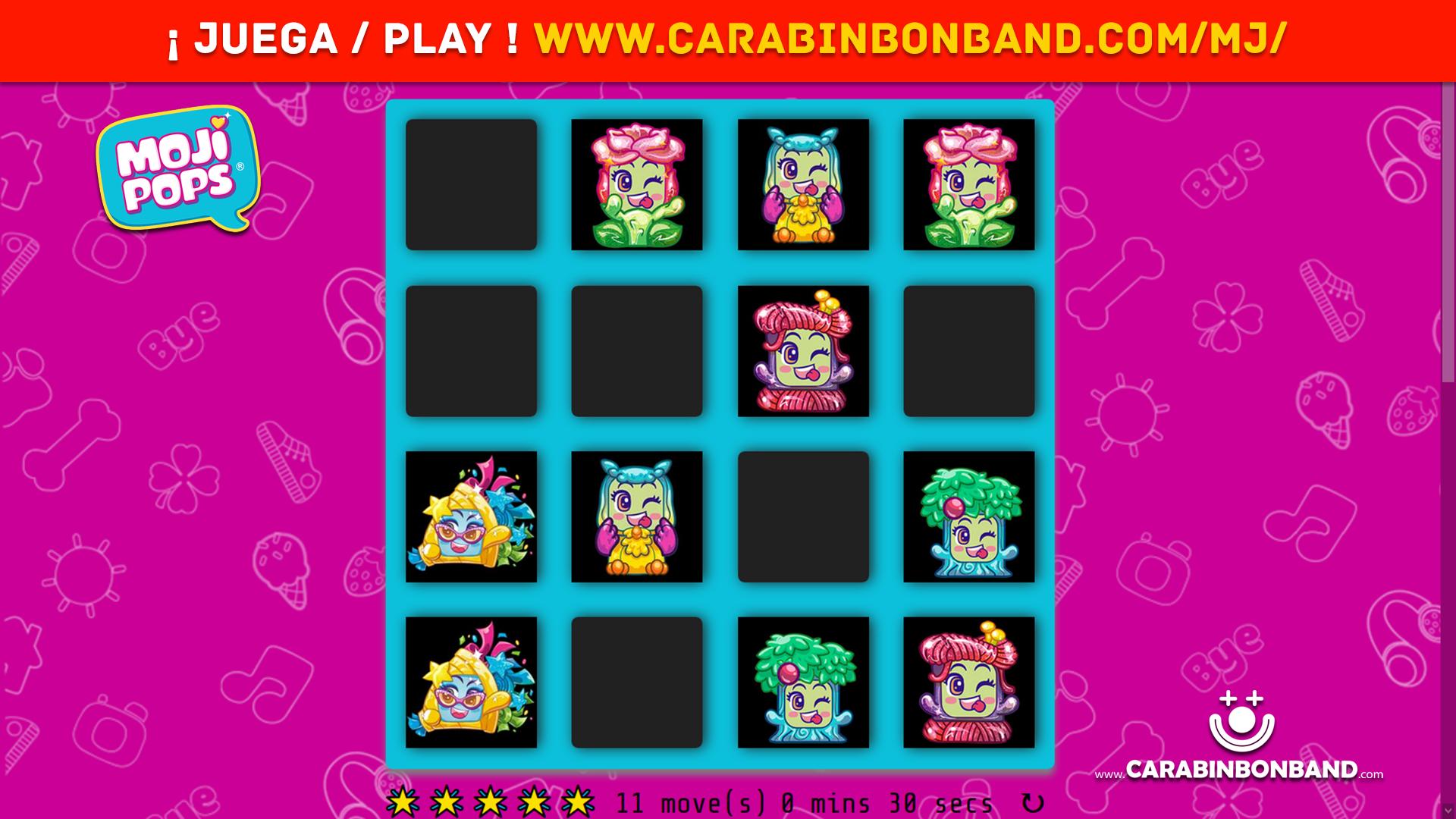 VIDEOJUEGO MOJIPOPS MEMORY GAME