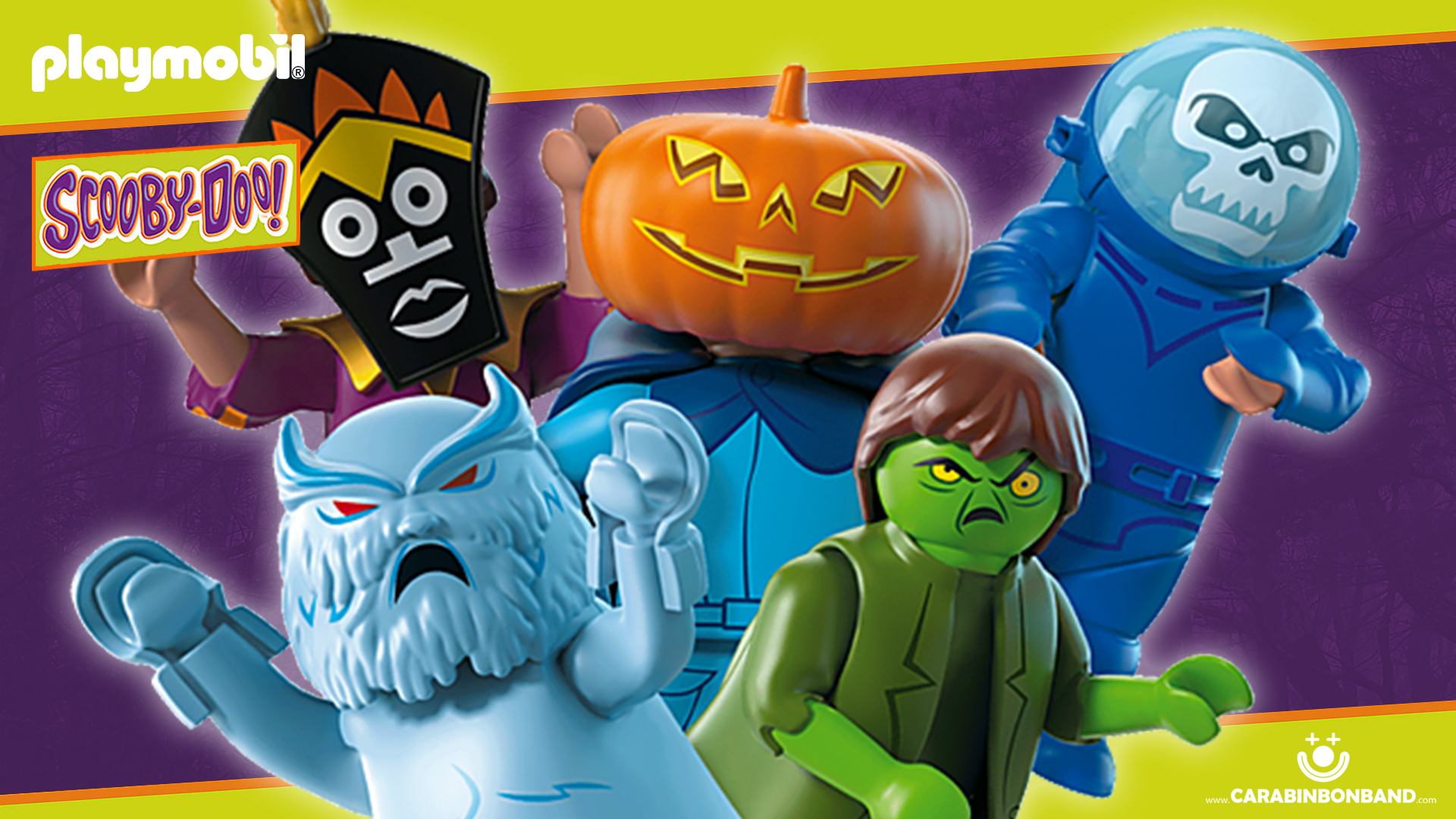 PLAYMOBIL SCOOBY DOO - Ghost collection Series 1