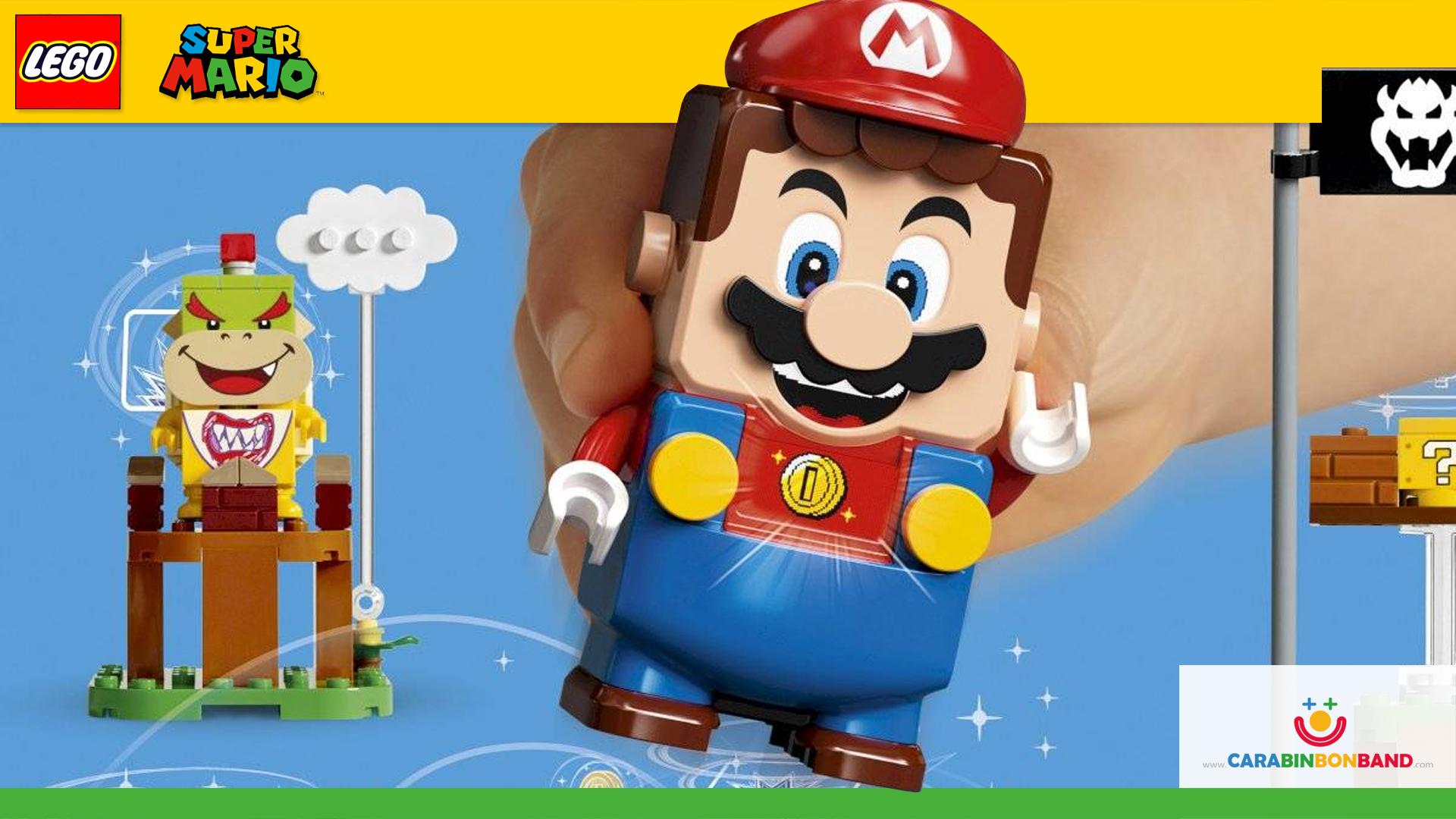Nuevo LEGO Super MARIO - Todos los sets y complementos