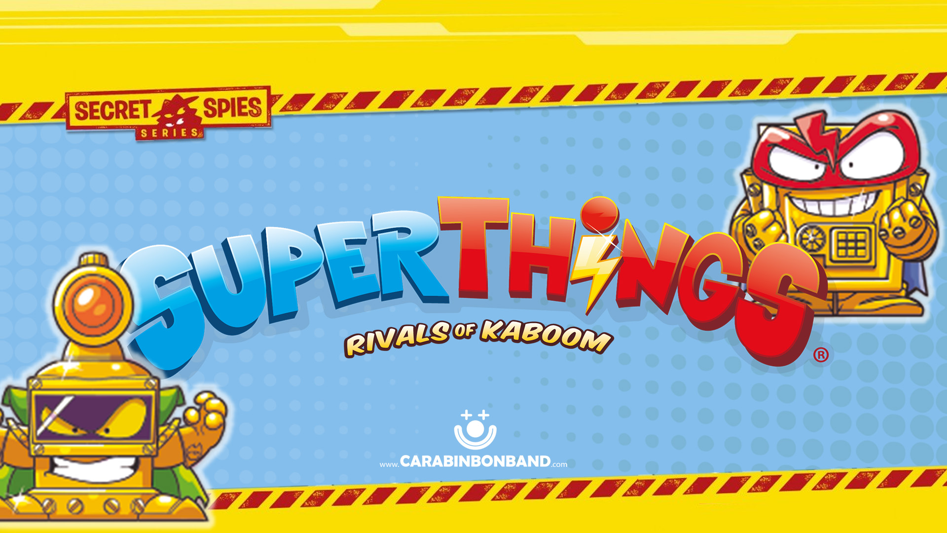 SUPERTHINGS SECRET SPIES - Couples of RIVALS
