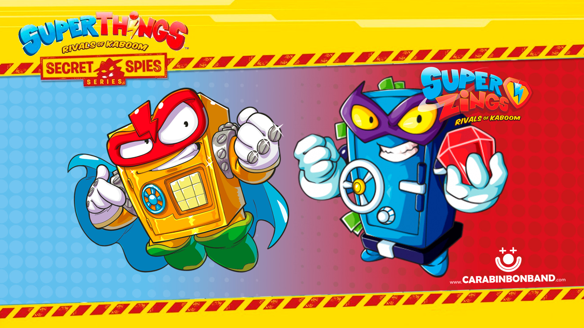 SUPERTHINGS SECRET SPIES VS. SUPERZINGS - Repeating objects