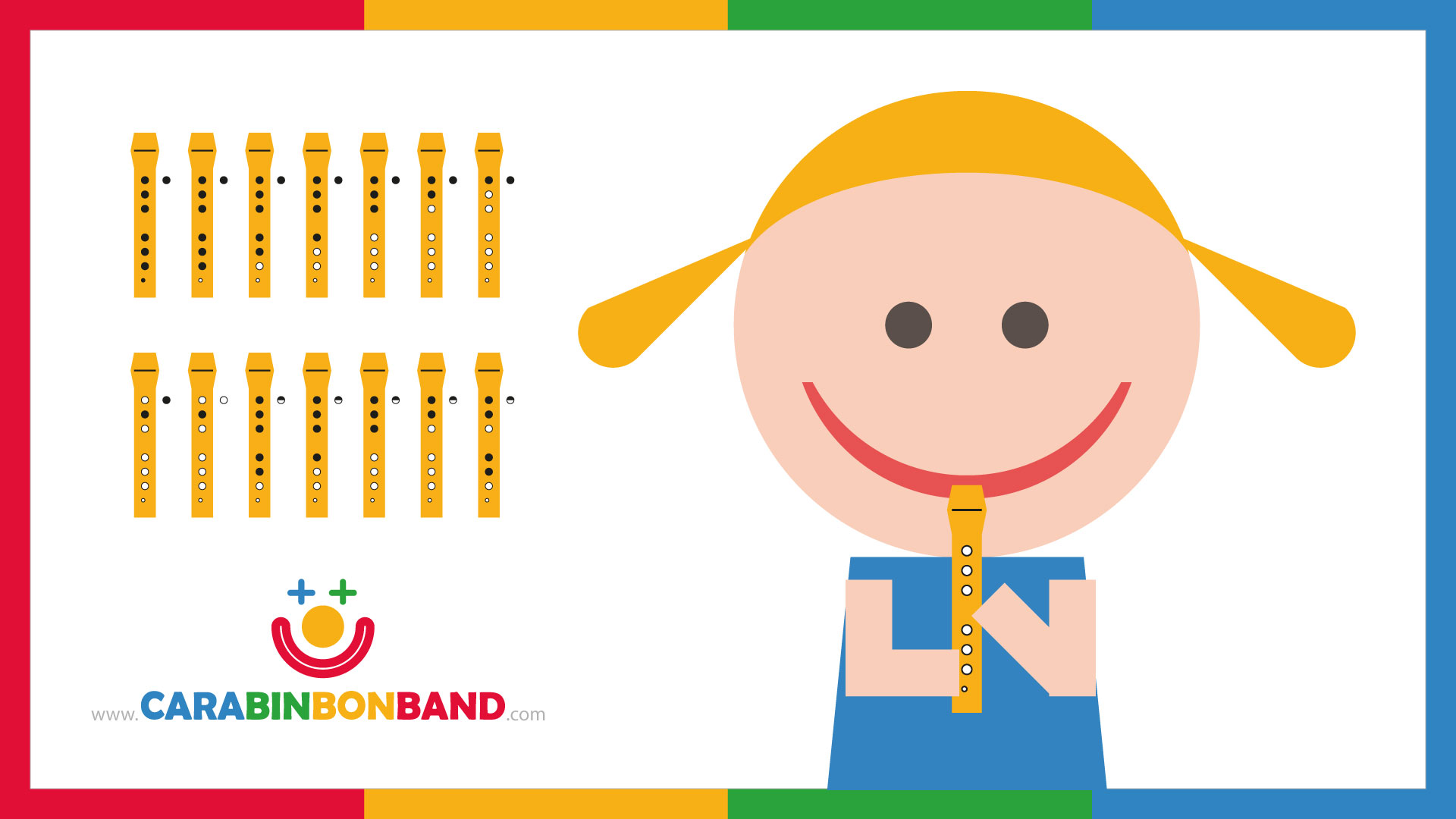 RECORDER FOR KIDS - EASY - LEARN TO PLAY - BASIC NOTES TUTORIAL