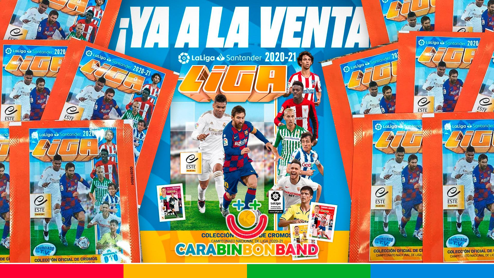 This is the PANINI LIGA ESTE 2020-21 FOOTBALL LEAGUE STICKER ALBUM