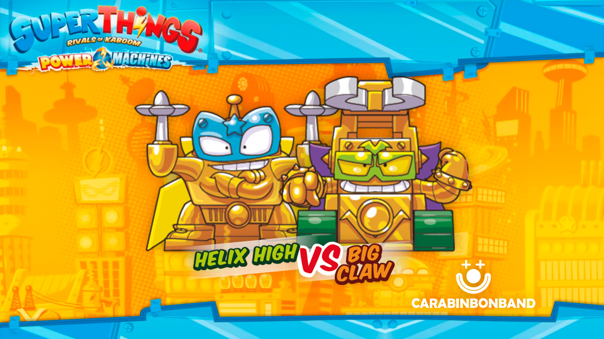 SUPERTHINGS SERIES 7 POWER MACHINES - all rivals