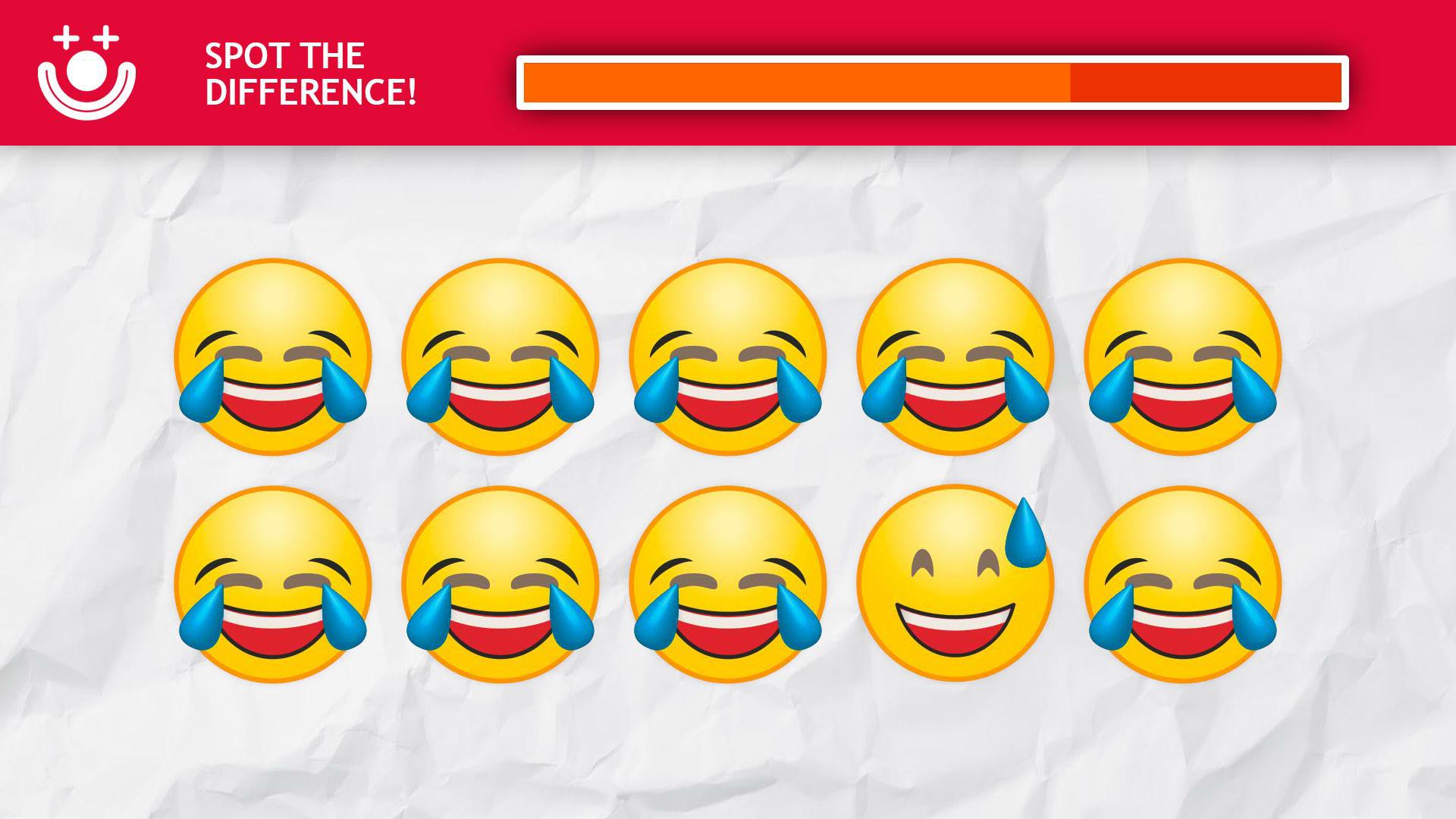🔎 Encuentra el EMOJI DIFERENTE FÁCIL - ¿Podrás localizar el emoji distinto?