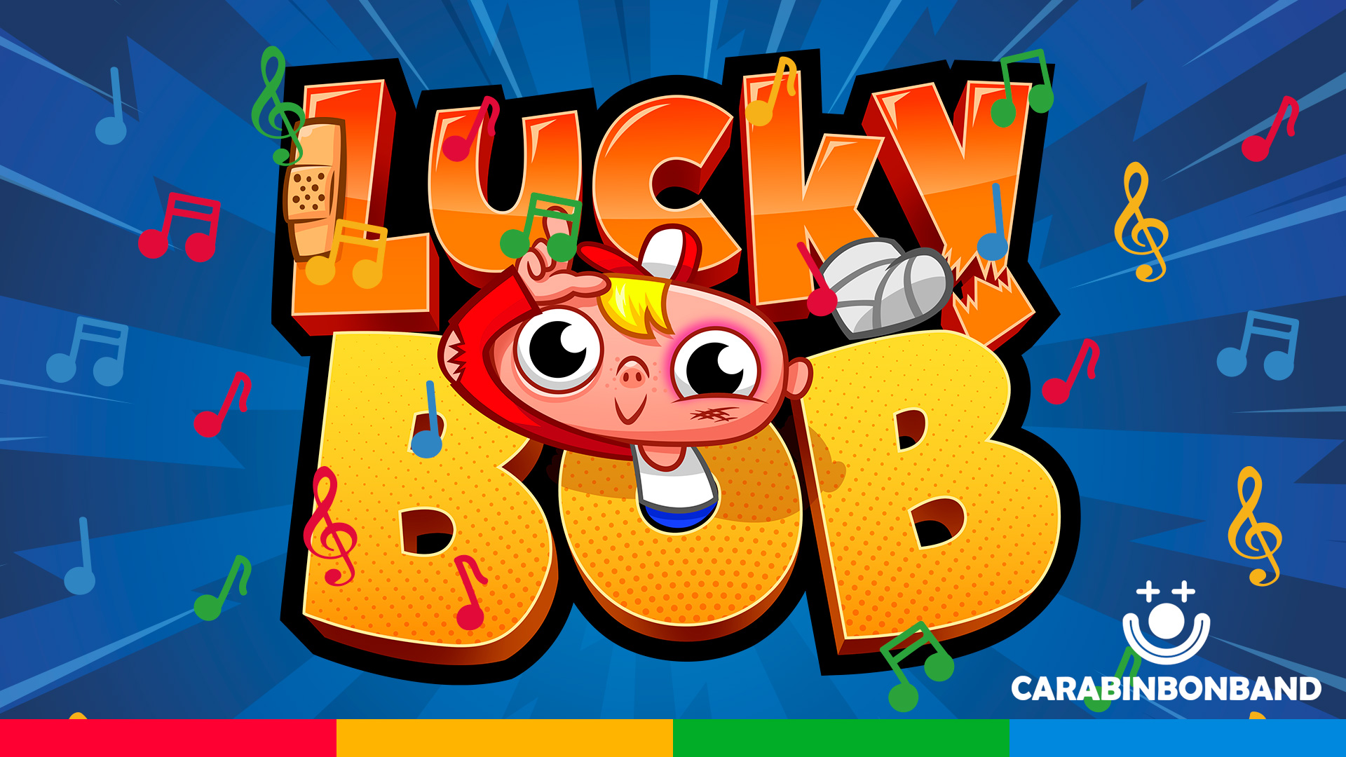 💥 LUCKY BOB 💥 🎵 Clumsiest boy's song! 🎵👱🏻🥴
