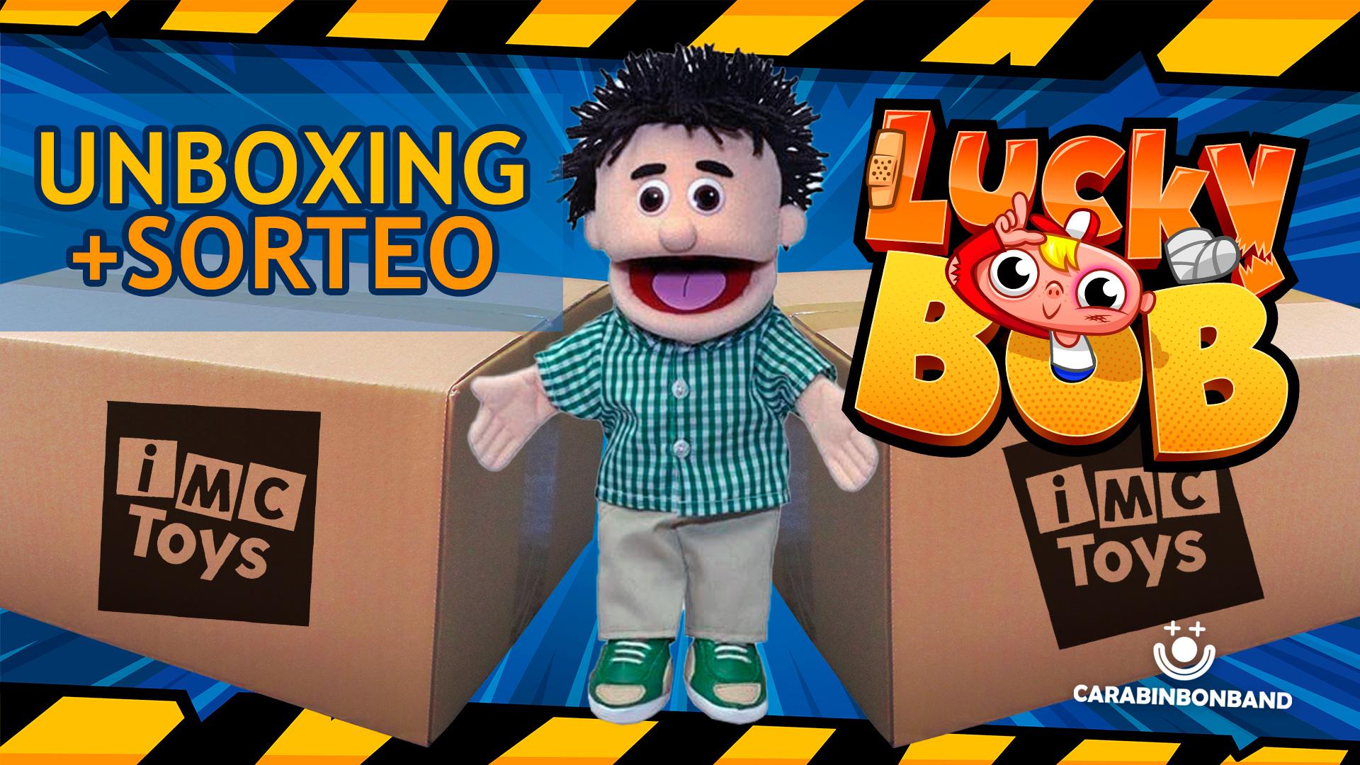 LUCKY BOB SERIES 1 - UNBOXING Y SORTEO