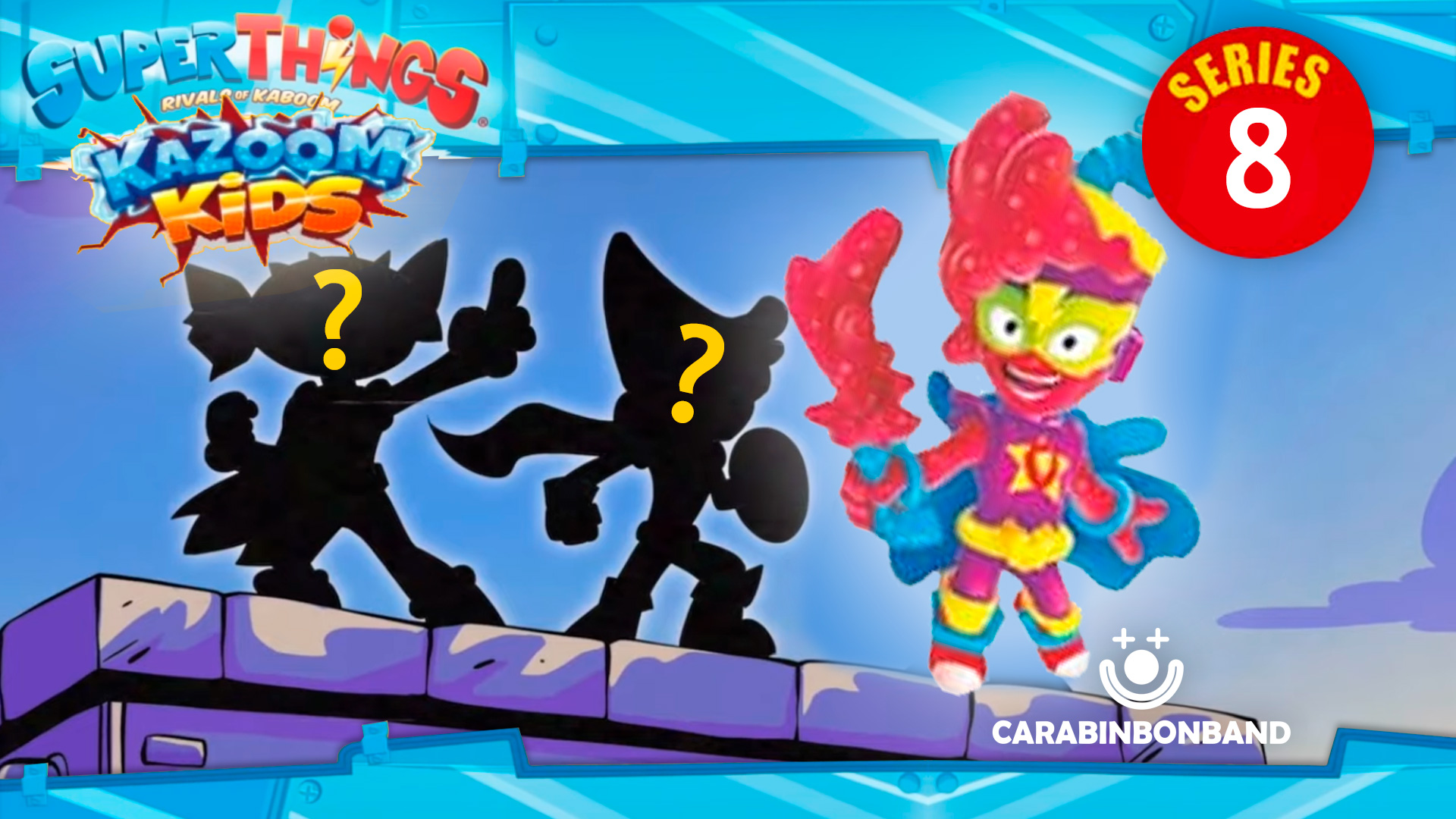 THIS IS THE NEW KAZOOM KIDS FROM SUPERHINGS SERIES 8