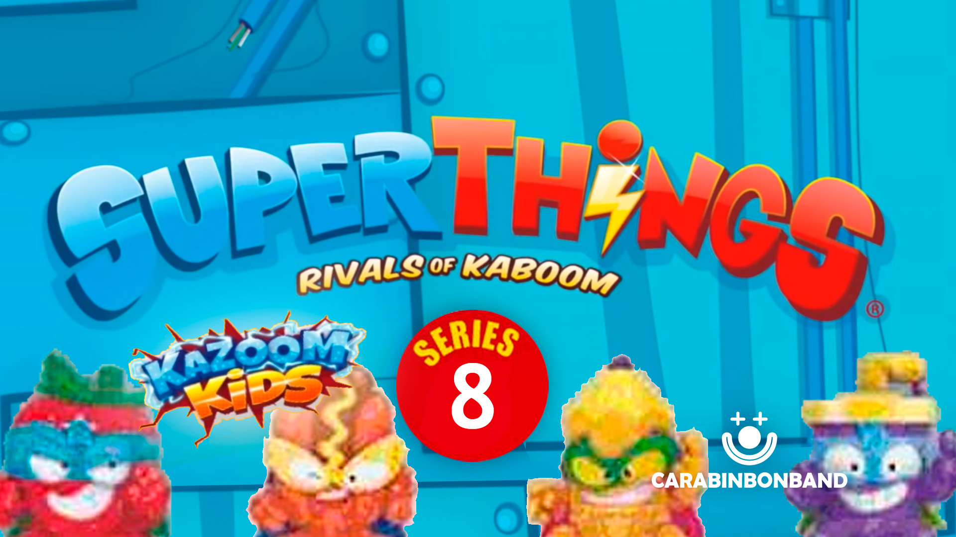 SUPERTHINGS SERIES 8 - KAZOOM KIDS - FIRST PICTURES AND NEWS