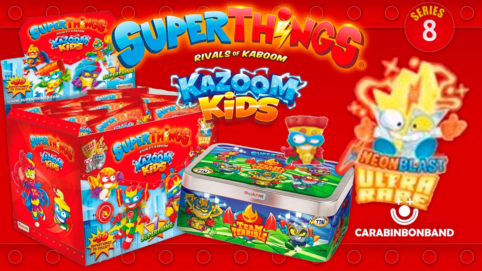 SUPERTHINGS SERIES 8 KAZOOM KIDS - ULTRAROUS, GOLDEN AND MORE NEWS