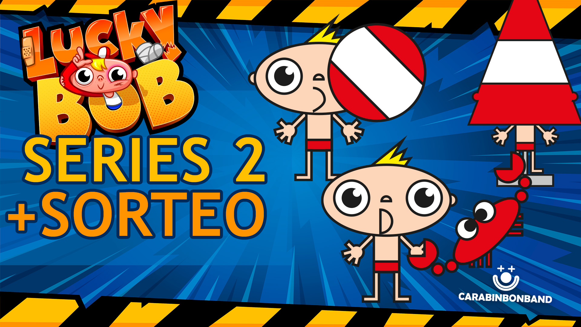 LUCKY BOB SERIES 2 INVENTED AND SWEEPSTAKES