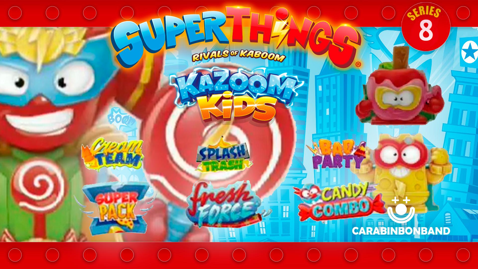 SUPERTHINGS SERIES 8 EQUIPOS - SUPERZINGS KAZOOM KIDS TEAMS