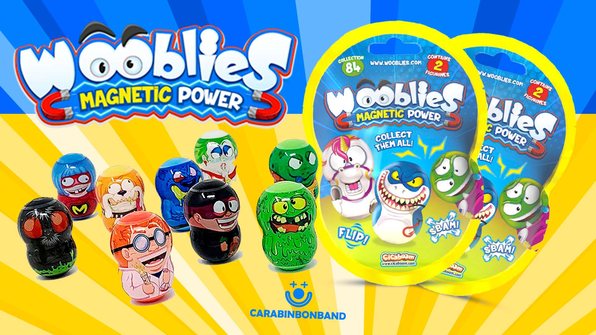 UNBOXING WOOBLIES SERIES 1, Magnetic Power of Cicaboom