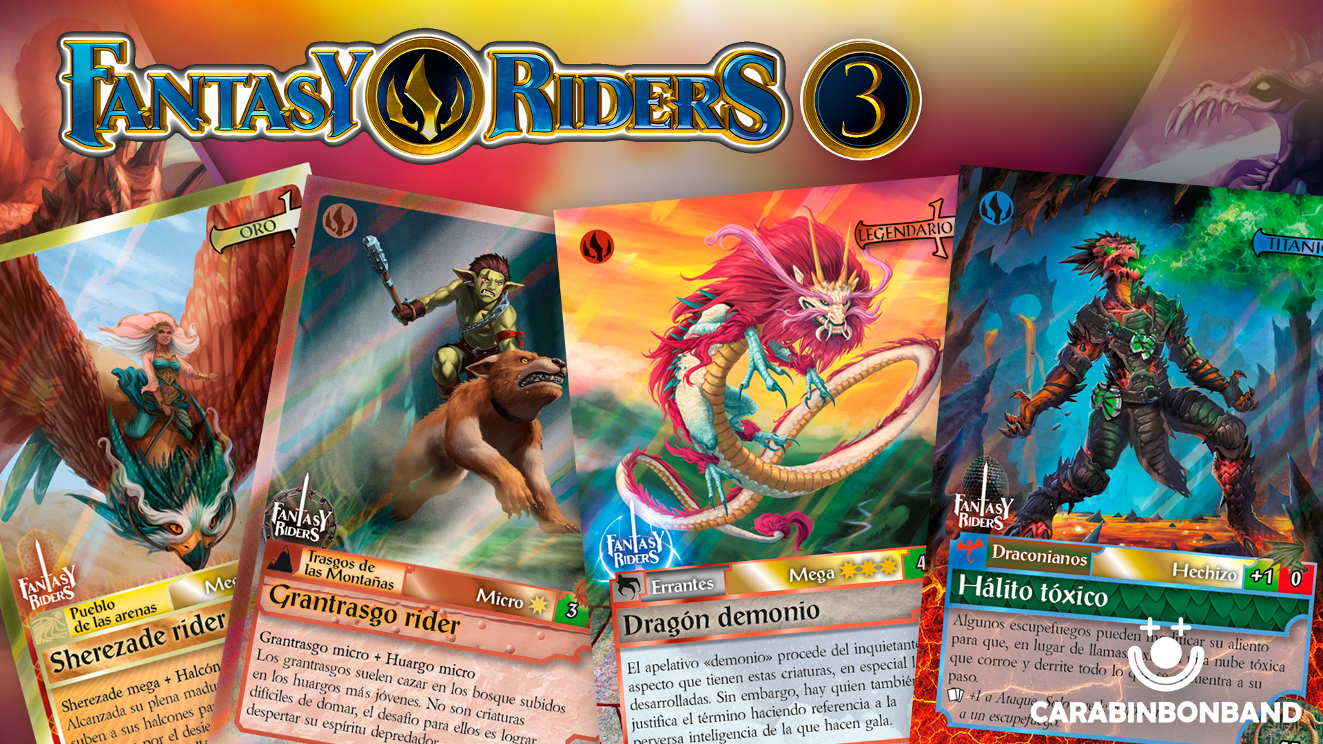 UNBOXING 20 PACKAGES FANTASY RIDERS 3 - RISE OF THE DRAGONS